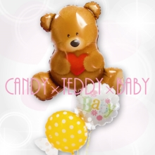 Candy×Teddy×Baby