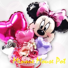 Minnie Mouse in Pot